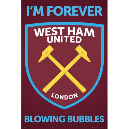 West Ham United F.C. Poster Crest 35