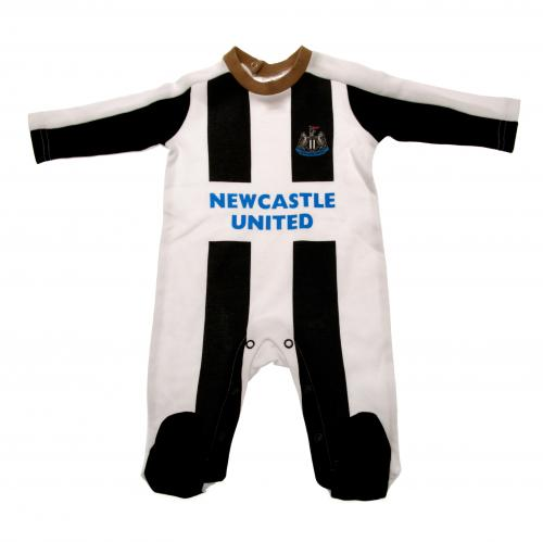 Newcastle United F.C. Sleepsuit 3/6 mths
