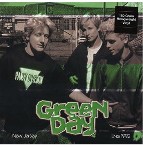 Vynil Green Day - Live In New Jersey May 28  1992 Wfmu Fm