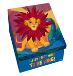 The King Lion Metal Box - Can't Wait To Be King