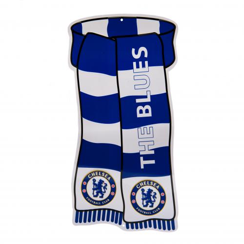 Chelsea F.C. Show Your Colours Sign