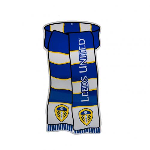 Leeds United F.C. Show Your Colours Window Sign