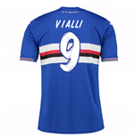 2016-17 Sampdoria Home Shirt (Vialli 9)