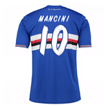 2016-17 Sampdoria Home Shirt (Mancini 10) - Kids