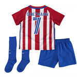 2016-17 Atletico Madrid Home Baby Kit (Griezmann 7)