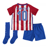 2016-17 Atletico Madrid Home Baby Kit (Carrasco 10)