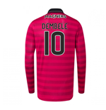 2016-17 Celtic Long Sleeve Third Shirt (Dembele 10)