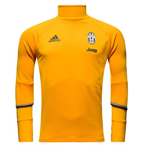 sports shoes bad74 e6dcf 2016-2017 Juventus Adidas Training Top (Gold) - Kids