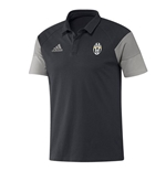 2016-2017 Juventus Adidas Polo Shirt (Dark Grey)