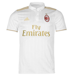2016-2017 AC Milan Adidas Away Football Shirt