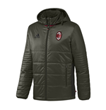 2016-2017 AC Milan Adidas Padded Jacket (Night Cargo)