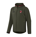 2016-2017 AC Milan Adidas Presentation Jacket (Night Cargo) - Kids
