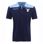 2016-2017 Lazio Cotton Polo Shirt (Navy)