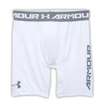 Under Armour Heatgear CoolSwitch Compression Shorts (White)