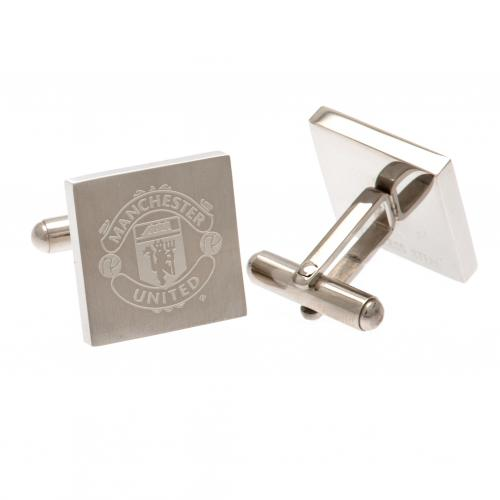 Manchester United F.C. Stainless Steel Cufflinks SQ