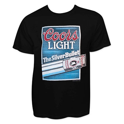 COORS Light Silver Bullet Tee Shirt