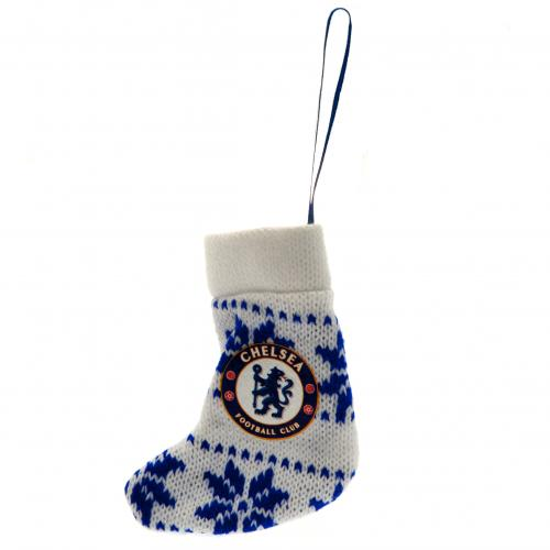 Chelsea F.C. Nordic Stocking Decoration
