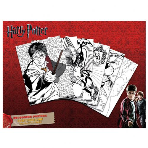 Harry Potter Colouring Poster Pack