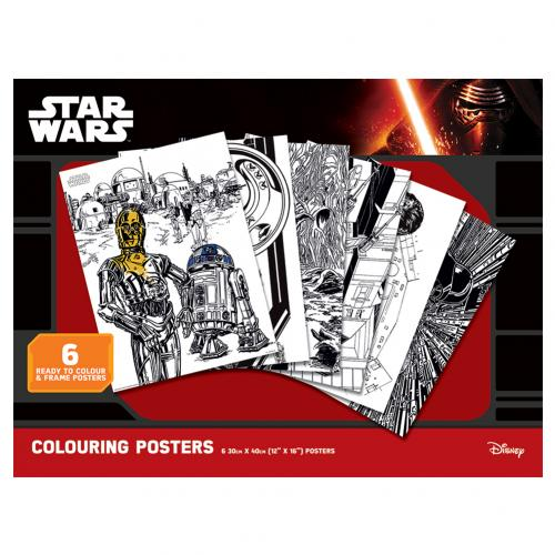 Star Wars Colouring Poster Pack