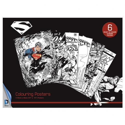 Superman Colouring Poster Pack