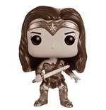 Batman v Superman POP! Heroes Vinyl Figure Wonder Woman (B&W) 9 cm