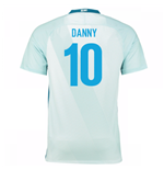 2016-17 Zenit St Petersburg Away Shirt - (Kids) (Danny 10)