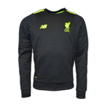 2016-2017 Liverpool Pro Training Sweat Top (Black) - No Sponsor
