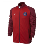 2016-2017 PSG Nike Authentic N98 Track Jacket (Red) - Kids