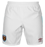 2016-2017 West Ham Home Football Shorts (Kids)