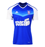 2016-2017 Ipswich Town Adidas Home Football Shirt