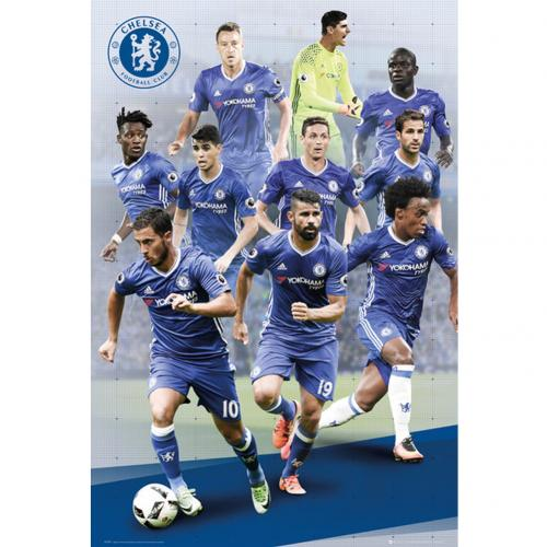 Chelsea F.C. Poster Players 78