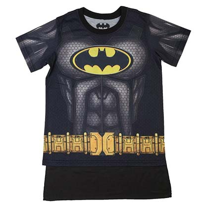BATMAN Sublimated Youth Costume Tee Shirt