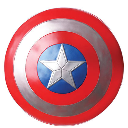 CAPTAIN AMERICA Shield Costume Accessory