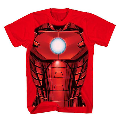 IRON MAN Youth Costume Tee Shirt