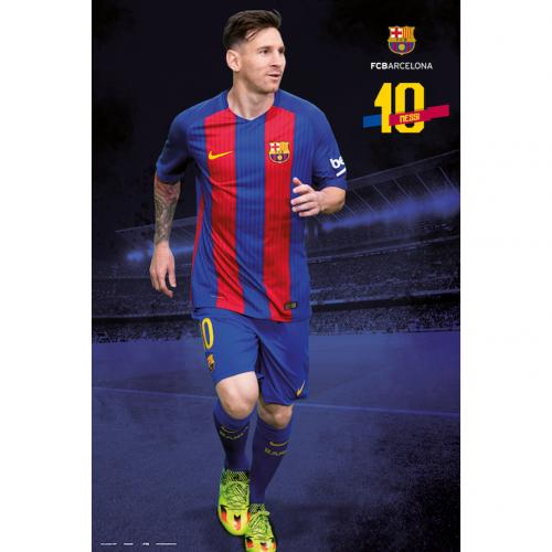 F.C. Barcelona Poster Messi 18