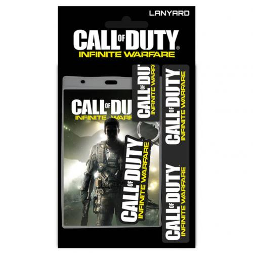 Call Of Duty Infinite Warfare Lanyard & Keyring Set