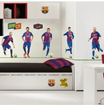 Barcelona Wall Stickers 5 Top Players
