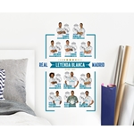 Real Madrid Wall Stickers 11 Players