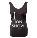 Game Of Thrones Tank Top I Love Jon Snow
