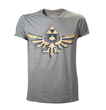 Zelda - Shirt, Vintage Triforce Logo