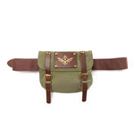 Zelda - Skyward Sword - Brown Belt With Green Satchel
