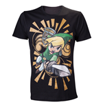 Zelda - Wind Waker Shirt, Link with Sword