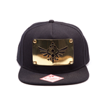 Zelda - Snap Back Cap, Golden Triforce Plate