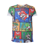 Nintendo Mario & Co all over print