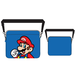 Nintendo - Blue. Mario Print Laptop Bag