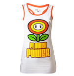 Nintendo - Flower Power Female Top