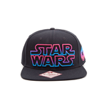 Star Wars - Black Snapback With Coloured Star Wars Logo