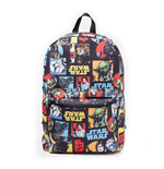 Star Wars - Retro Characters Comic Style Backpack