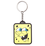 Spongebob - The 'Whatever' Smile Rubber Keychain