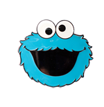 Sesame Street - Cookie Monster Buckle 2D